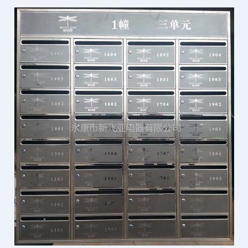 不锈钢信报箱-城市风景XFY-0408