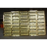 不锈钢信报箱 -钛金板喷金砂XFY-0507