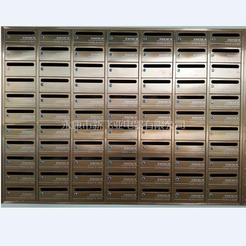 不锈钢信报箱-万达广场XFY-0611