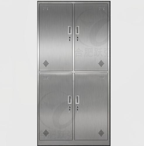 不锈钢更衣柜-不锈钢四门更衣柜XFY