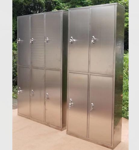不锈钢四门、六门更衣柜-不锈钢四门、六门更衣柜XFY