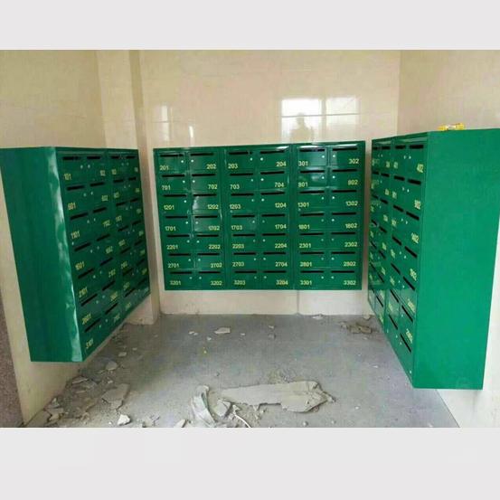 邮政绿铁皮信报箱 铁皮信报箱XFY