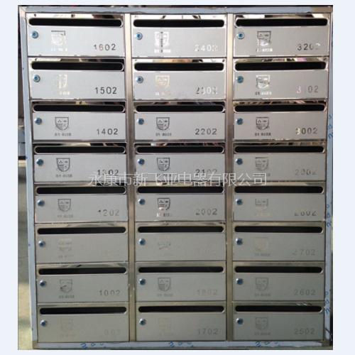 不锈钢信报箱 鑫龙·御溪名都