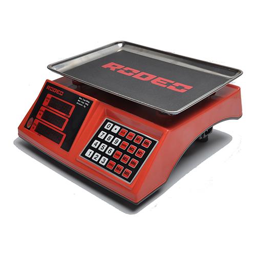 电子计价秤-6302C-红 电子计价秤