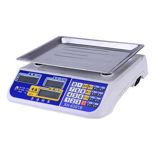 电子计价秤-XH-6501B-LCD 电子计价秤