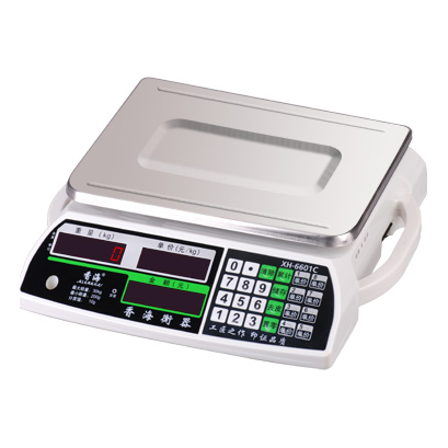 电子计价秤-6601-white 电子计价秤