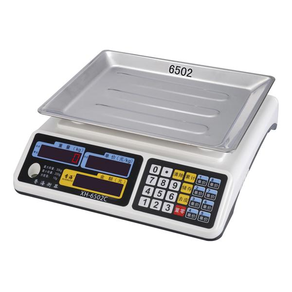 XH-6502 电子计价秤 XH-6502 电子计价秤
