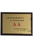 AA信用等级