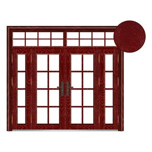 树纹玻璃拼接门系列