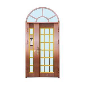 豪华玻璃拼接门