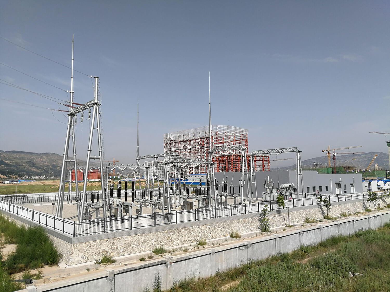 232-1建設中的試驗大廳和110kv變電站.jpg