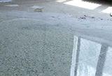 旧水磨石硬化地坪