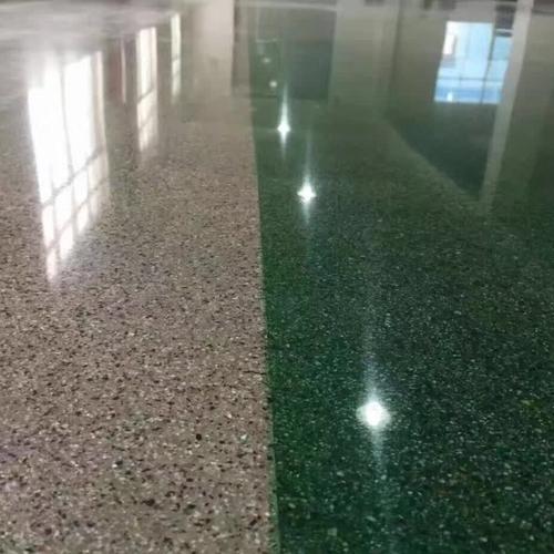 混凝土彩色钢化地坪(商场)-