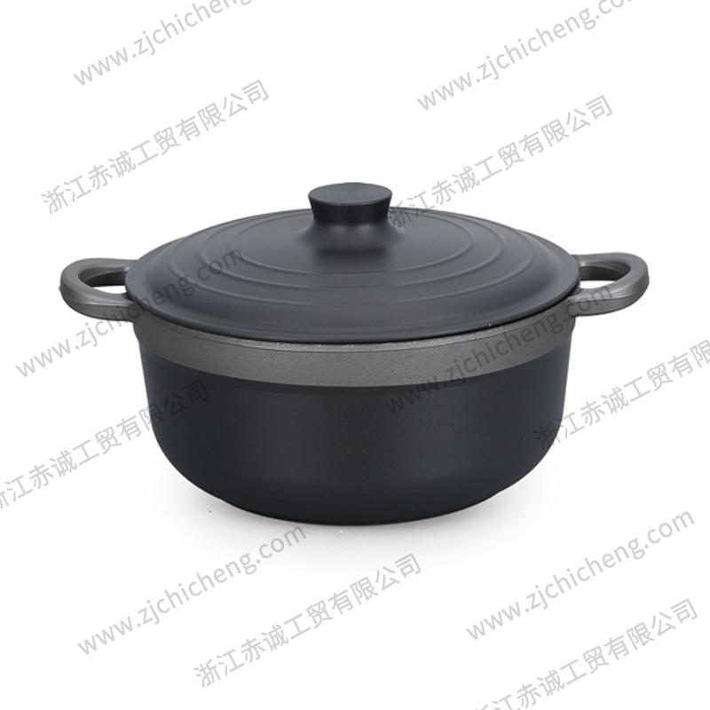 硬质氧化铝锅汤锅 XB-2180 | 20cm