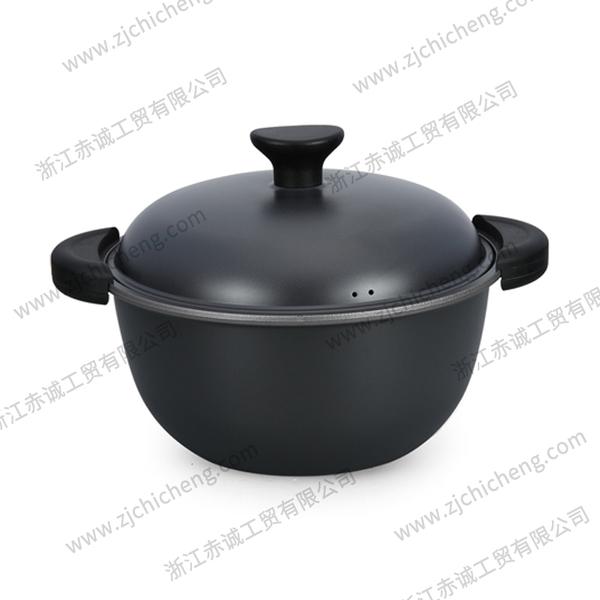 硬质氧化铝锅汤锅 XB-2185 | 24cm