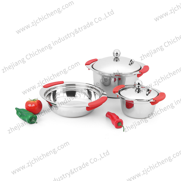 3PCS stainless steel XB-2156