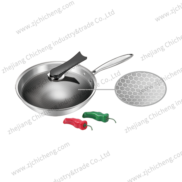 Multiply stainless steel cookware with etching XB-2161