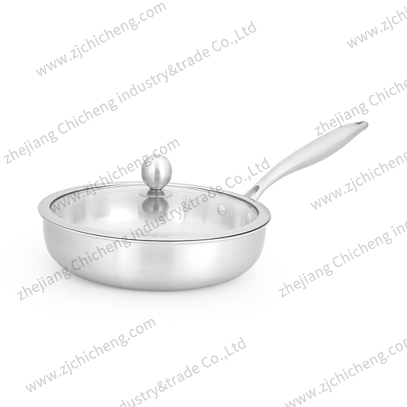 Belly shape fry pan XB-2105