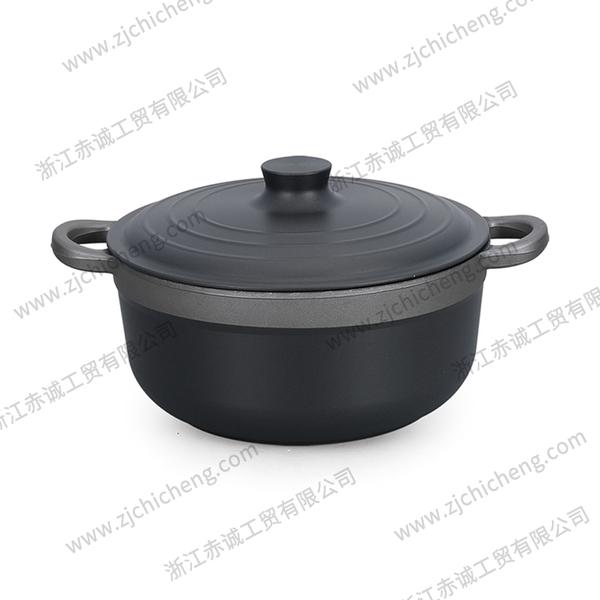 硬质氧化铝锅汤锅 XB-2182 | 26cm
