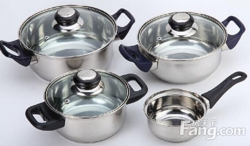 Precautions for the use of stainless steel pots? What should I do if the stainless steel pot becomes dark?