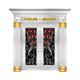和熙不锈钢门-HX-1083(七类花)