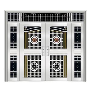 和熙不锈钢门-HX-1096(四类花)