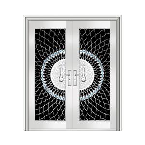 和熙不锈钢门-HX-1073(七类花)