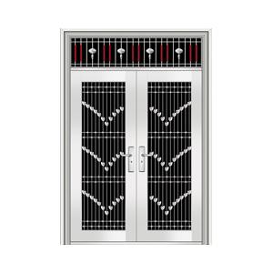 和熙不锈钢门-HX-1097(四类花)