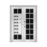和熙不锈钢门 -HX-1107(玻璃门)