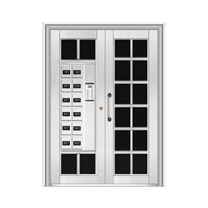 和熙不锈钢门-HX-1107(玻璃门)