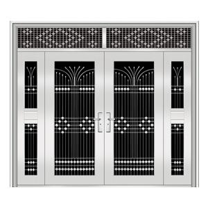 和熙不锈钢门-HX-1101(三类花)