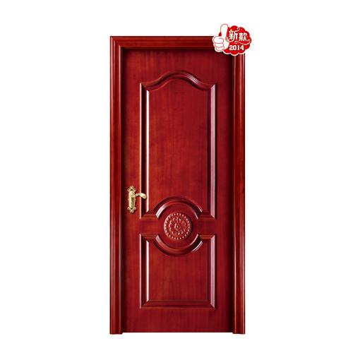 雕花门-HX-D039红胡桃