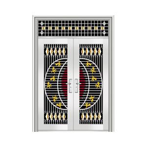 和熙不锈钢门-HX-1098(七类花)