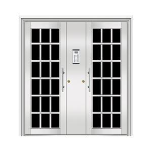 和熙不锈钢门-HX-1105(玻璃门)