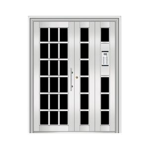 和熙不锈钢门-HX-1103(玻璃门)