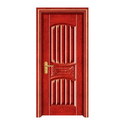 钢木门-HX-188(玫瑰红)深拉伸
