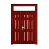 强化门 -HX-866 红橡 子母门