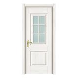 玻璃门 -2507-暖白浮雕