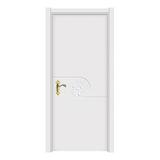 暖白光面门 -2305-象牙白