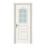 玻璃门 -2508-暖白浮雕