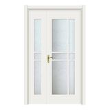 玻璃门 -2502-象牙白