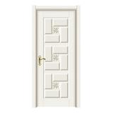 暖白浮雕门 -2113-暖白浮雕