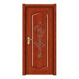 全木门-1303红檀浮雕