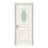 玻璃门 -2510-暖白浮雕