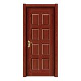 德式拼装门 -1505巴西红檀