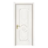 暖白浮雕门 -2102 暖白浮雕