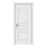暖白光面门 -2308-象牙白