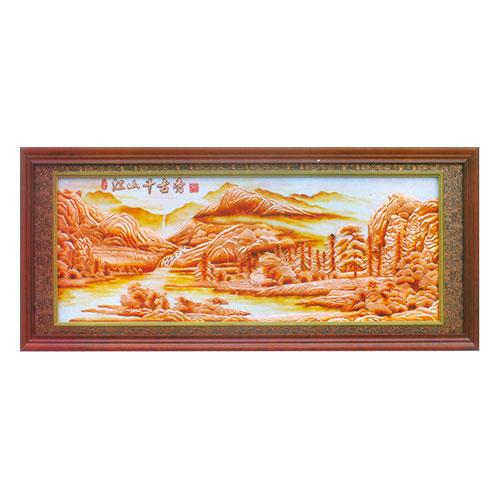 紫铜浮雕系列 江山千古秀