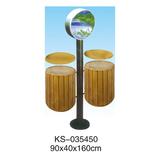 玻璃钢垃圾桶系列 -KS-035450