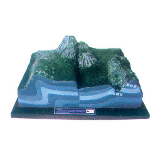 地理教室专用教具 地质地貌(声/光/电)